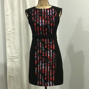 Forever 21 color block sheath dress size S